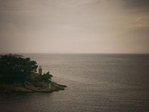 Island at dusk, Croatia by Assaf Frank