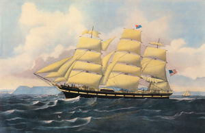 Clipper Ship 'Ontario' by Anonymous