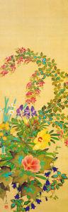 Flowers and Grasses I by Suyuki Kitsu