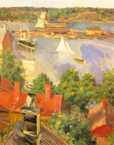 Harbour View by Akseli Kalella