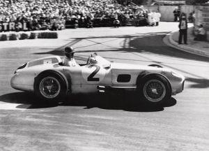 Grand Prix De Monaco, 1955 by Alan Smith