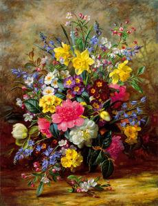 Summer Floral II by Albert Williams