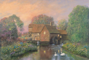The Old Watermill by Alexander Sheridan