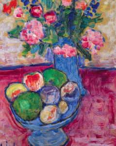 The Blue Vase by Alexei Von Jawlensky