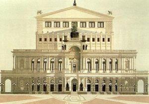 Staatsoper, Dresden by Andras Kaldor