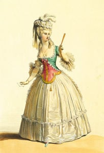Costume Sous Louis XVI by Andre Deveria