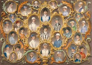 Principal Jockeys of the South of England by Anson Martin