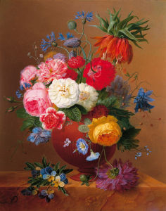 Floral Still Life II by Arnoldus Bloemers