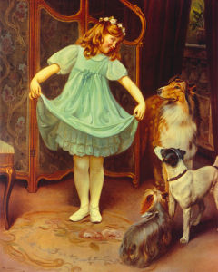 The New Dress by Arthur Elsley