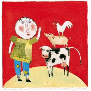 She Brought the Cow by Barbara Olsen