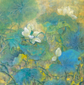 Summer Lotus by Cai Xiaoli