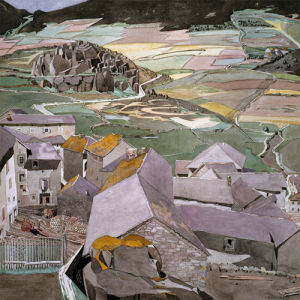 The Village of La Llagonne by Charles Rennie Mackintosh