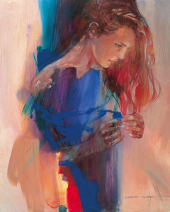 Odalisque III by Christine Comyn