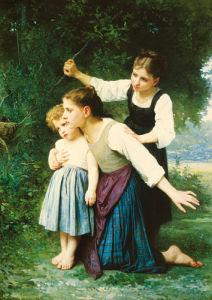 Dans le Bois by Elizabeth Gardner Bouguereau