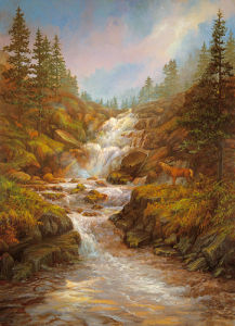 The Waterfall by Elizabeth Halstead