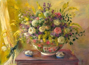 Summer Flowers by Elizabeth Parsons