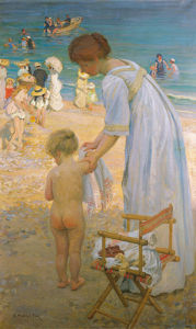 The Bathing Hour by Emanuel Phillips Fox