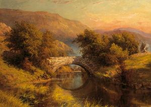 Fishing in Calm Waters by George Cammidge