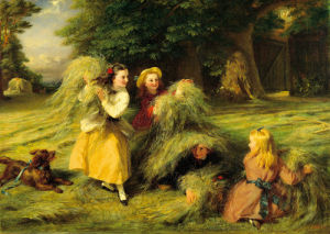 The Harvesters by George Bernard O'Neill