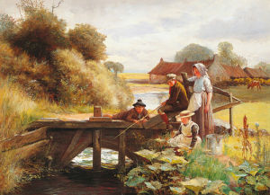 The Fishing Party by George Paterson