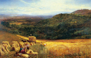 Harvest-Time by George Vicat Cole