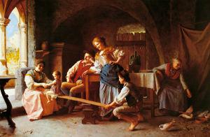 The See-Saw by Giovanni Battista Torriglia