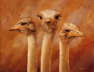 Three's a Crowd by Henk van Zanten