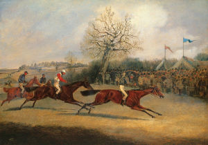 The Finish by Henry Alken