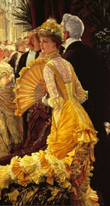The Ball c.1878 by James Jacques Joseph Tissot