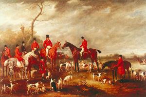 Preparing for the Hunt by John Ferneley