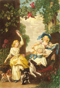 Children of George III by John Singleton Copley