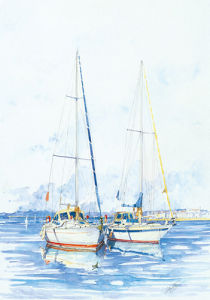 The Moorings by Louis Gavotto