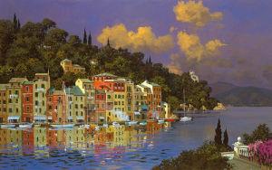 Portofino Sunlight by Lucio Sollazzi