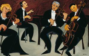Strings and Piano by Marsha Hammel