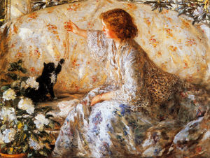 Hydrangeas by Philip Wilson Steer