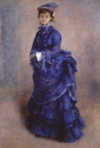 La Parisienne by Pierre Auguste Renoir