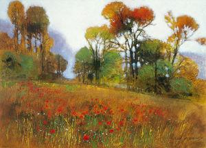 The Season's Bounty by Richard Akerman