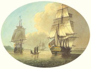 Coastal Shipping I by Samuel Atkins