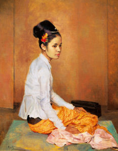 Burmese Pearl by Sir Gerald Kelly
