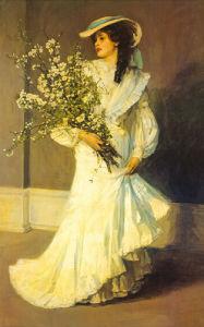 Spring by Sir John Everett Lavery