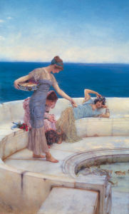 Silver Favourites by Sir Lawrence Alma-Tadema