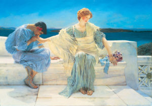 Young Lovers by Sir Lawrence Alma-Tadema