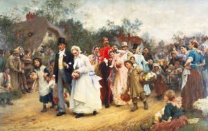 The Village Wedding by Sir Samuel Luke Fildes