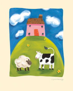Pink Farmhouse by Sophie Harding