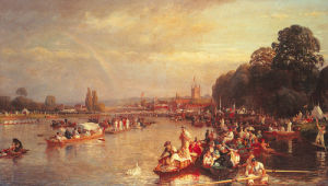 The Regatta, Henley on Thames by Walter Field