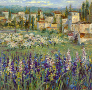 Provencal Village I by Longo