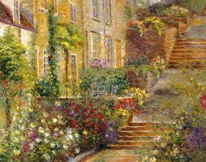 Patio Gardens I by Longo