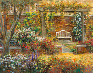 Patio Gardens II by Longo