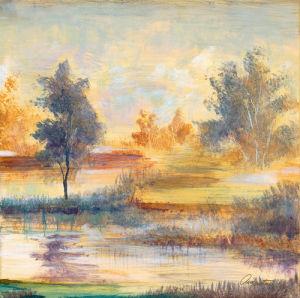 River Glade I by Joseph Augustine Grassia