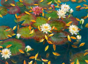 Lily Pad I by Elise Lunden